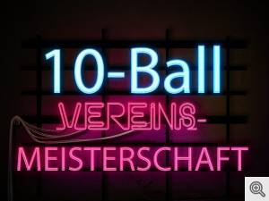 10-Ball Vereinsmeisterschaft 2018