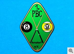 Das Logo des 1. Pool Billard Club Arnstorf e.V.